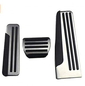 AT/ MT Aluminum alloy Car Pedal Foot Rest Pedals Plate Cover For Infiniti Q50,Q60,Q70,QX50,QX70