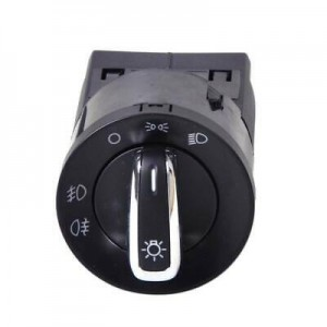 3BD941531 Chrome-Plated Headlight Switch for Volkswagen Bora Passat B5 B5.5 Golf