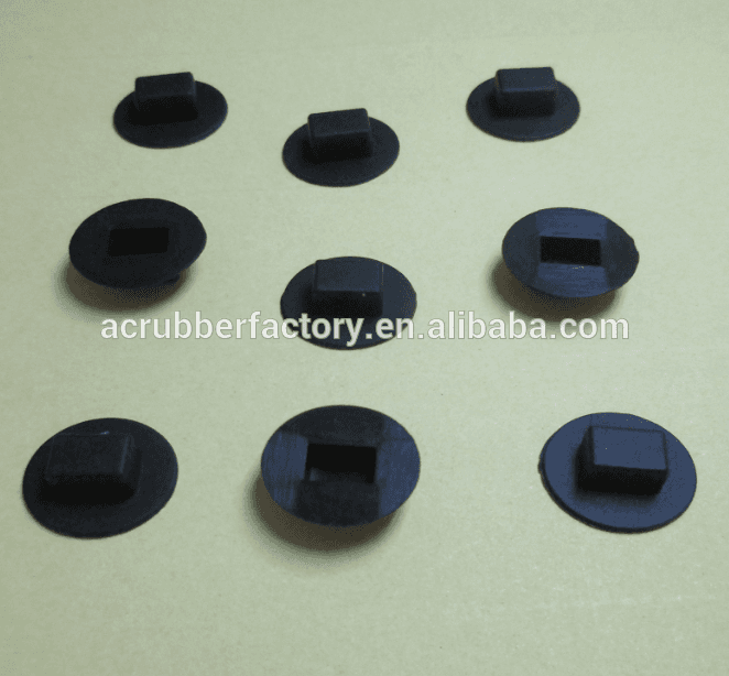 rectangular and square and elliptical silicone rubber button cap