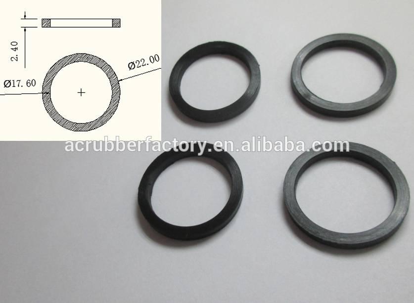 10 piezas gomas Industrial Flexible arandela junta t/órica del 40 mm x 2,4 mm