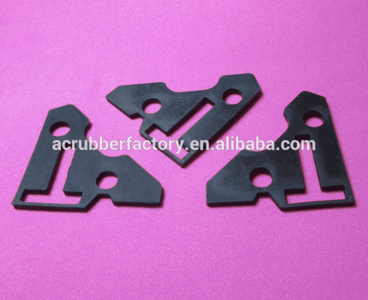 rubber sealing pad heat resistant rubber pad shock absorber pad