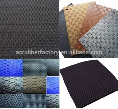 China Adhesive Thin Butyl Trade Assurance Embossed Rubber Sheet Vulcanized Neoprene Rubber Sheet Factory And Manufacturers Anconn