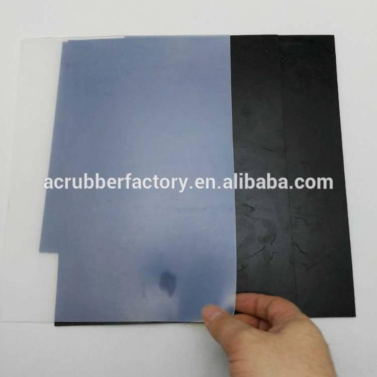 electric appliance adhesive soft adhesive rubber sheet 1mm 0.3mm silicone rubber sheet manufacture thin black rubber sheet