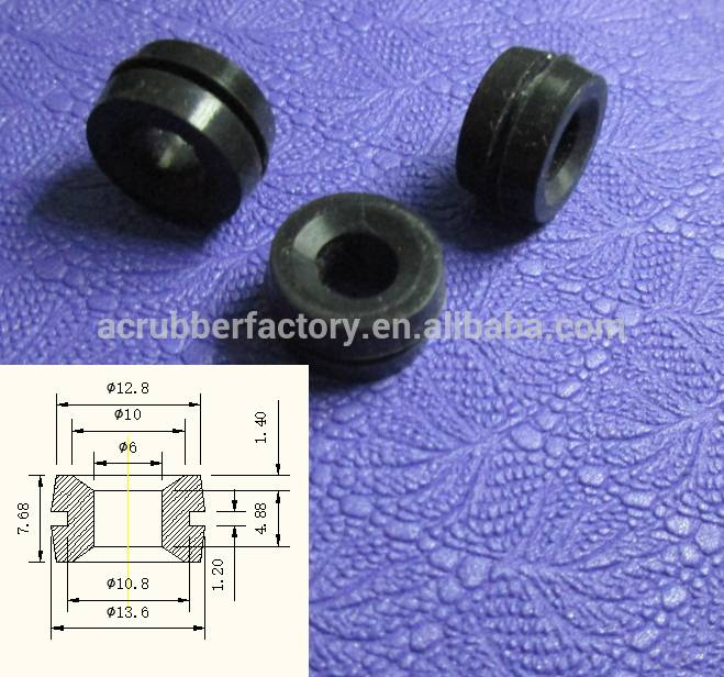 6MM with clamping groove silicone rubber ring, fixed position, dustproof, waterproof silicone rubber ring