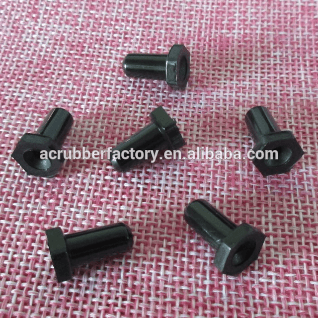 Toughening screwed glossy hexangular nylon plug pp pc plugs