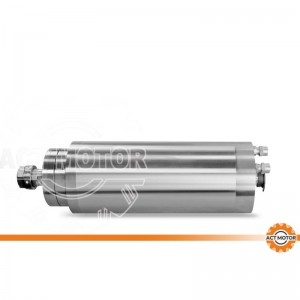 ACT MOTOR Spindle motor water cooling round 5.5KW ER25 CNC machine 400HZ