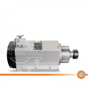 ACT MOTOR Spindle motor air cooling  2.2KW ER25 CNC machine 400HZ