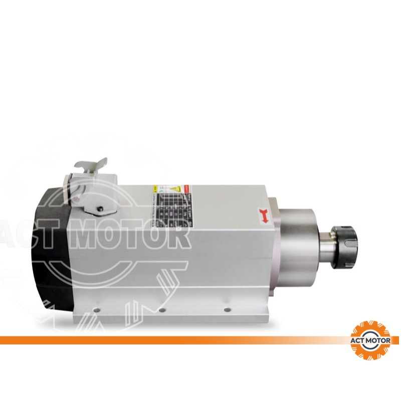 ACT MOTOR Spindle motor air cooling  2.2KW ER25 CNC machine 400HZ Featured Image