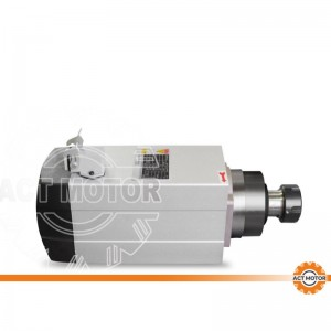 ACT MOTOR Spindle motor air cooling  3.5KW ER20 CNC machine 300HZ