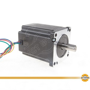 To-fase, fire-Phase Hybrid stepmotor 34HS