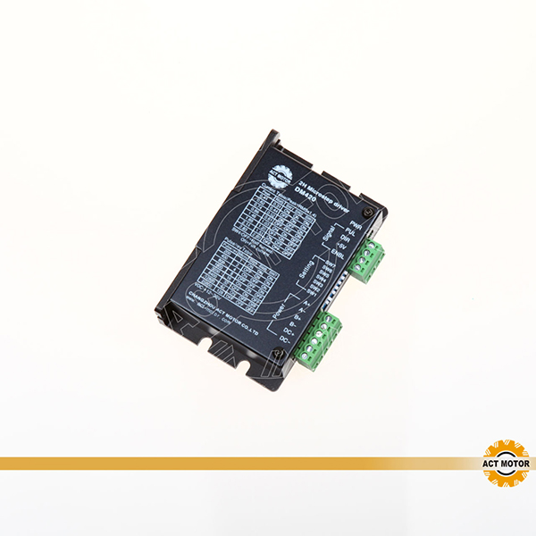 Two-Phase, Four-Phase Hybrid Stepper Motor Driver DM420 Featured Image