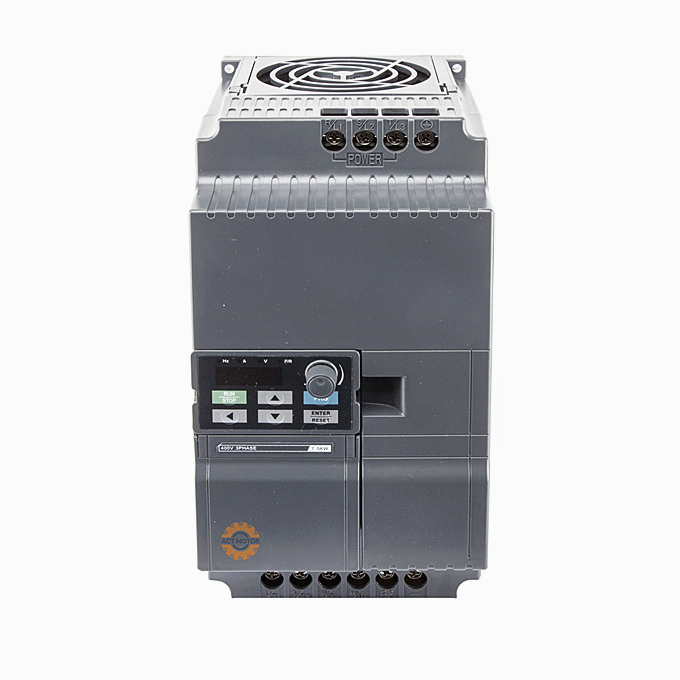NEW!5.5KW Compact Vector Control VFD frequency converter 220V/380V Featured Image