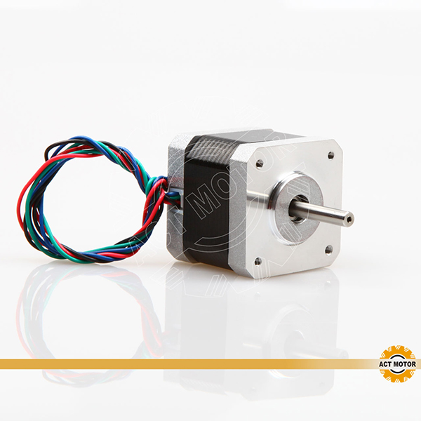 Well-designed Dual Shaft Stepper Motor -