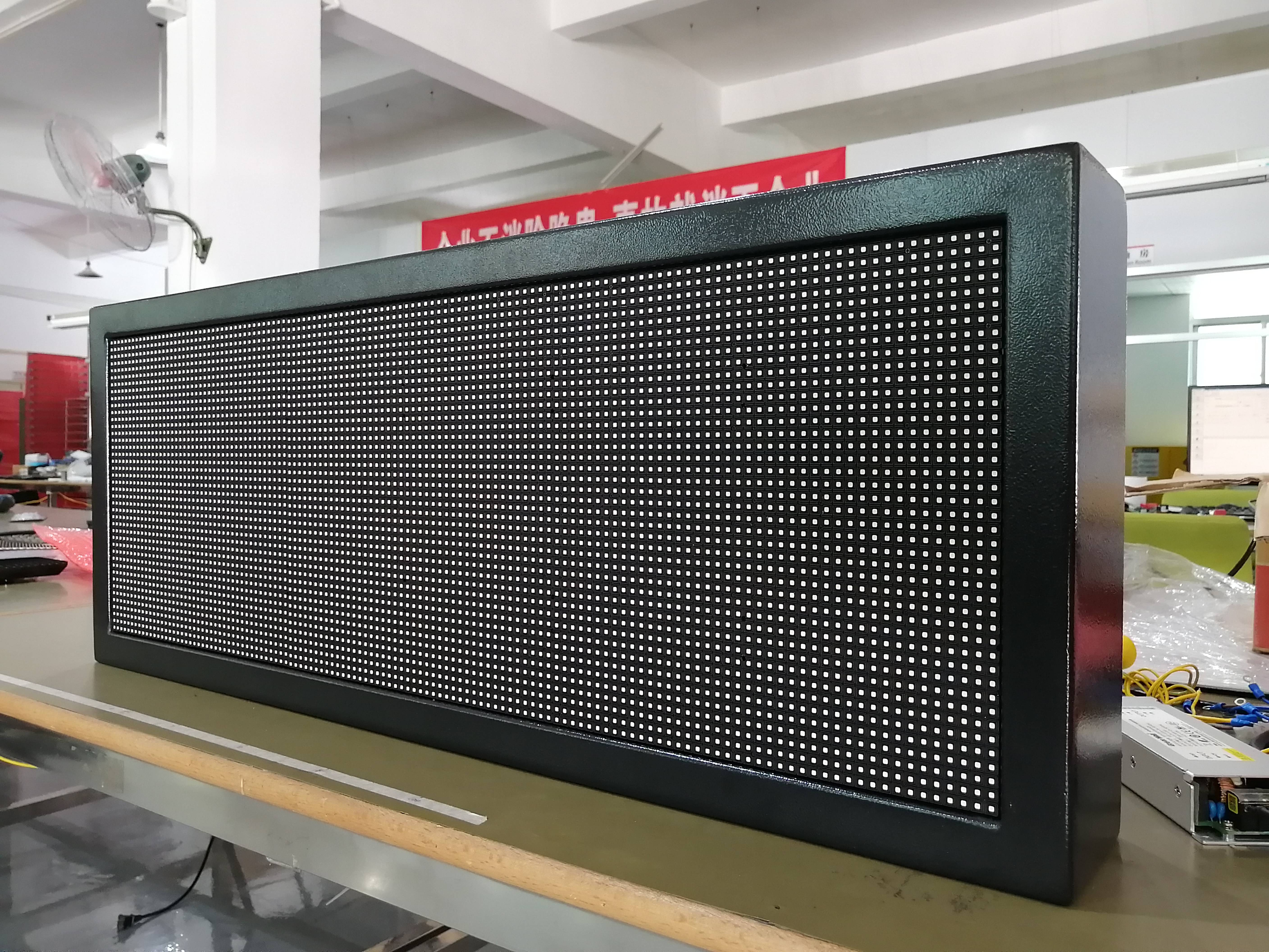 2020 AeroV LED Message Screen