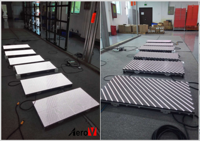 See How We Age The LED Display Screen !