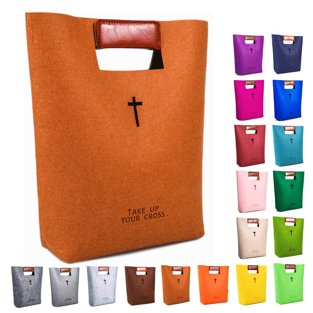 China OEM Cute Felt Bible Carrying Case Factory Featured Image
