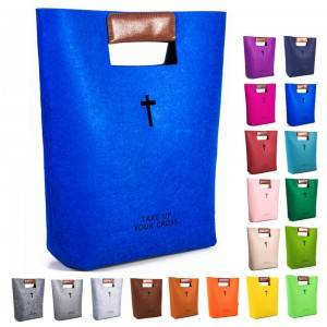 China Handbag Felt Bible Cover For Women Men
