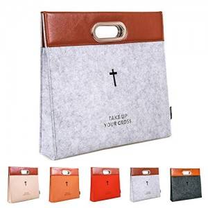 China OEM Carved Cross Holy Felt Bible Briefcase Manufacturer