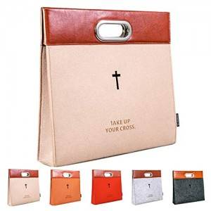 Handbag Felt Bible Cover Tote Carrying bag briefcase