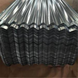 Professional China 0.3mm 0.4mm Galvanized Corrugated Sheets Weight Steel Roofing Sheets