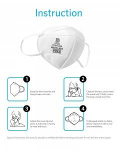 Niosh N95 Mask N95 Face Mask Niosh Certified N95 Respirators
