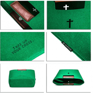 China OEM Cute Felt Bible Carrying Case Factory