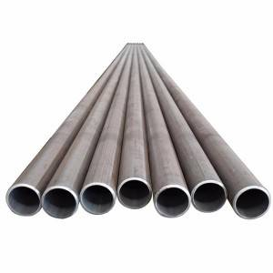 Quality Inspection for Precision A53 Carbon Round Seamless Steel Pipe A106 Steel Pipe