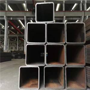 Building Material Ms Square Welded Carbon Steel Pipe