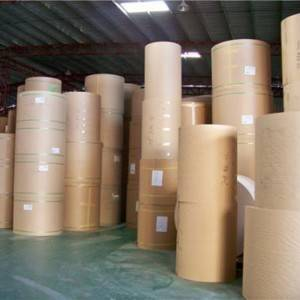 Factory wholesale Printed Aluminum Metallic Laminated Wrapping Kraft Foil Paper