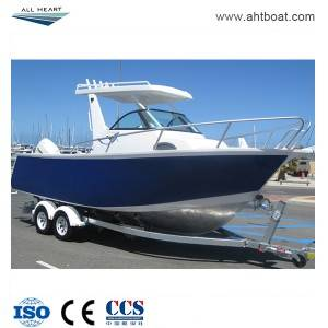 5.8m/19ft Center Cabin with Hardtop Fishing Boat