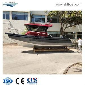 LEADER 7.68m Pontoon Center Cabin Aluminum Fishing Boat