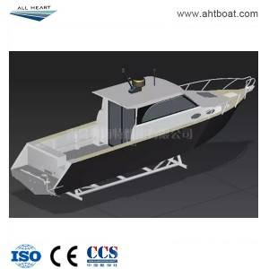 9.5m Cuddy Cabin with Sliding Door Boat