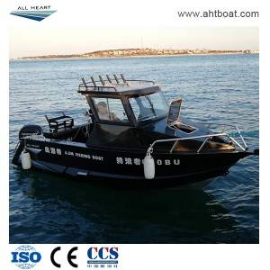New Desinged 6.5m/21ft Shark Cuddy Cabin Fishing Boat