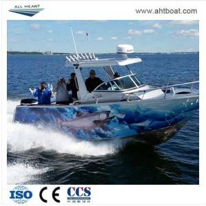 SAIL 7.9m Center Cabin with Hardtop Aluminum Fishing Boat