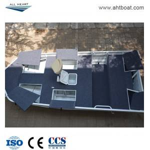 5m Bass Boat Pressed Hull Boat