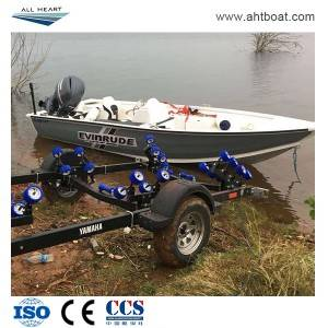 Plate 5.7m Bass Aluminum Fishing Boat