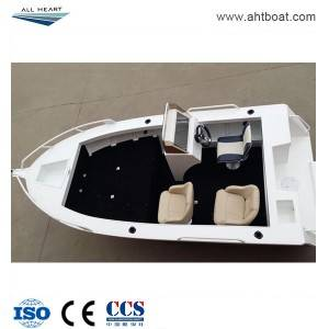 Pressed 5.0m Side Console Aluminum Fishing Boat