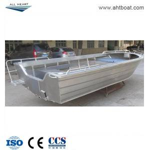 Pressed 5.0m Dingy Open Aluminum Speed Boat
