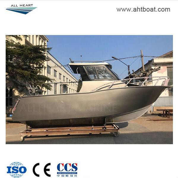 Voyage 6.5m Cuddy Cabin Aluminum Fishing Boat Featured Image