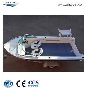 Pressed 4.2m Runabout Aluminum Fishing Boat
