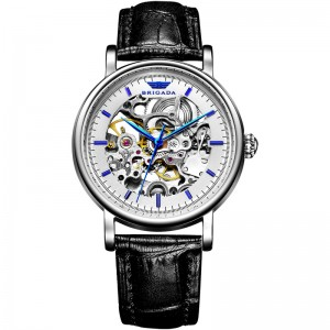2019 Best Selling Automatic Mechanical Luxury Skeleton Wrist Watch for Men
