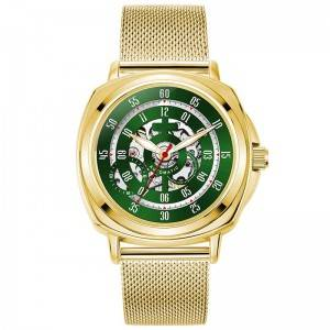 Luxury Watch Supplier Customized Made Mesh Band Men Branded Automatic Customized Logo Watches
