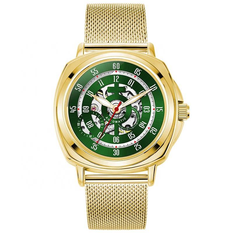 Luxury Watch Supplier Customized Made Mesh Band Men Branded Automatic Customized Logo Watches Featured Image