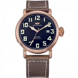 Zenith Quality Bronze Luminous Swiss Movement Pilot watch