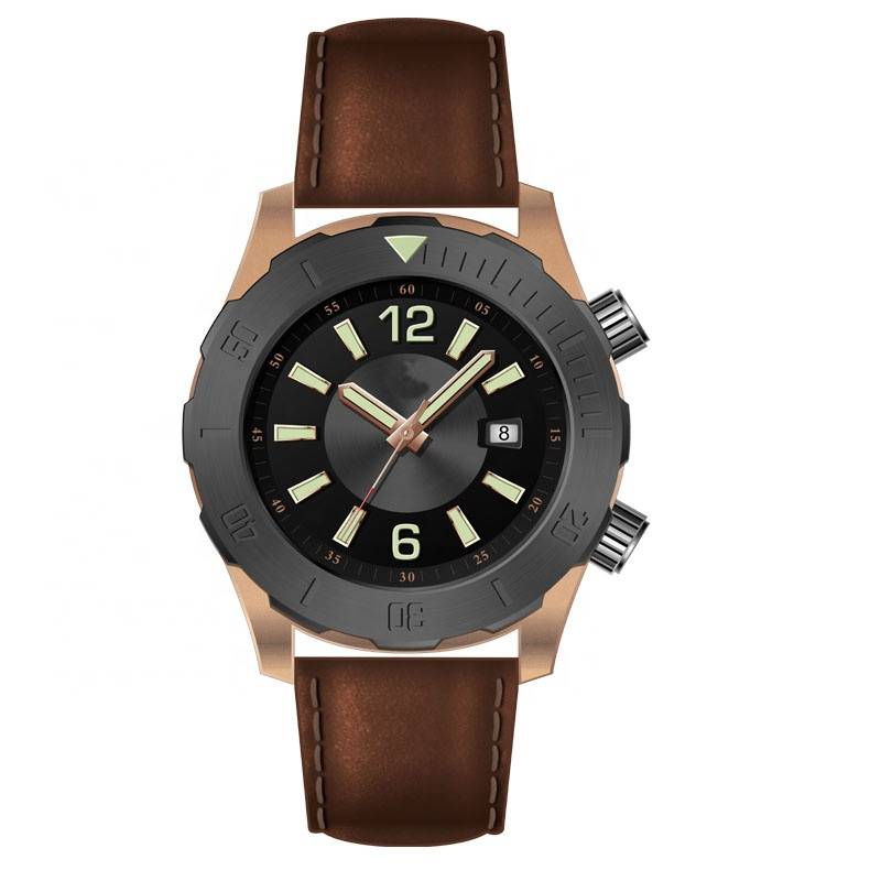 Abyss bronze automatic diving watch with 1000 meters Featured Image