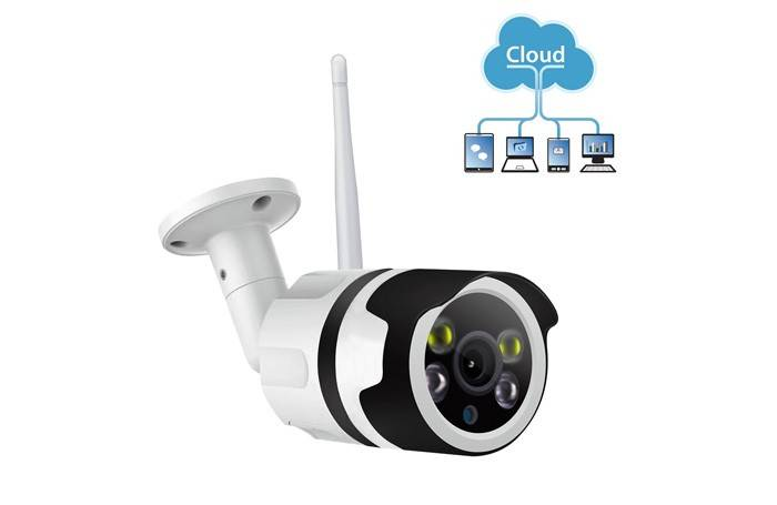 Colorful night vision WIFI Outdoor IP Camera OEM Featured Image