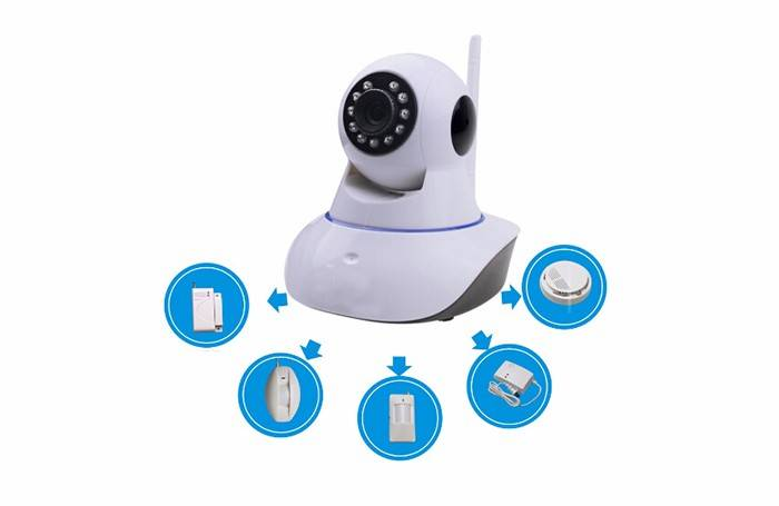 WiFi PT IP Camera smart home ODM