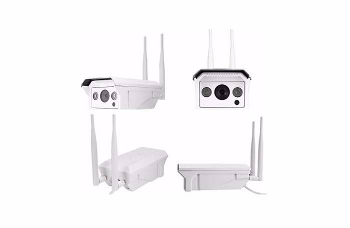 Wireless 4G Solar IP Camera OEM customized