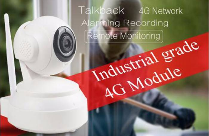 4G Sim Card IP CAMERA with SDK