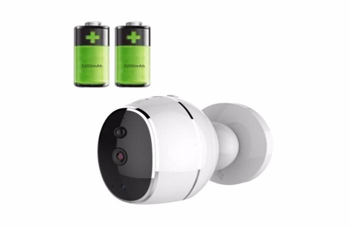 battery operated wireless security camera